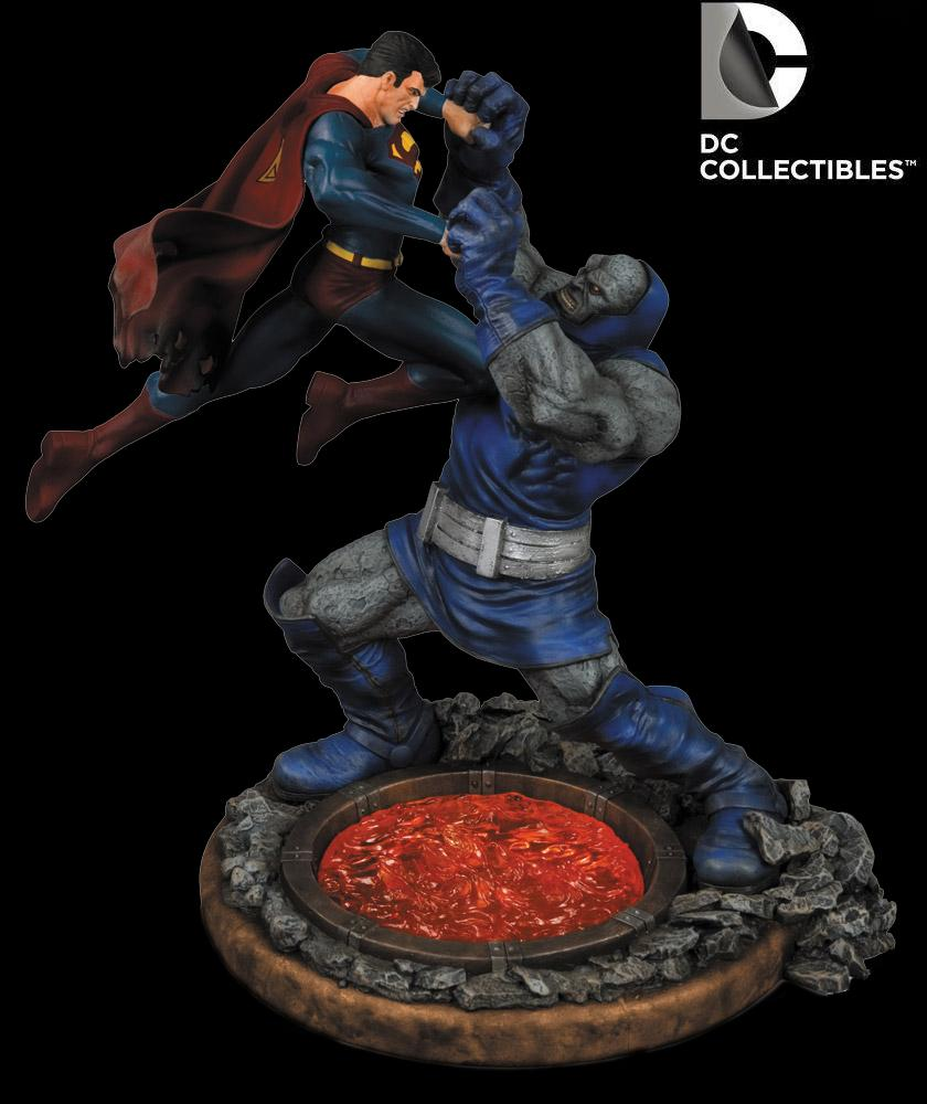 Dc Comics Superman Vs Darkseid 2nd Edition Statue Dc ...