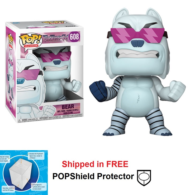 Funko POP DC Comics Teen Titans Go Bear Figure - #608