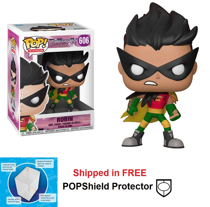 Funko POP DC Comics Teen Titans Go Robin Figure - #606