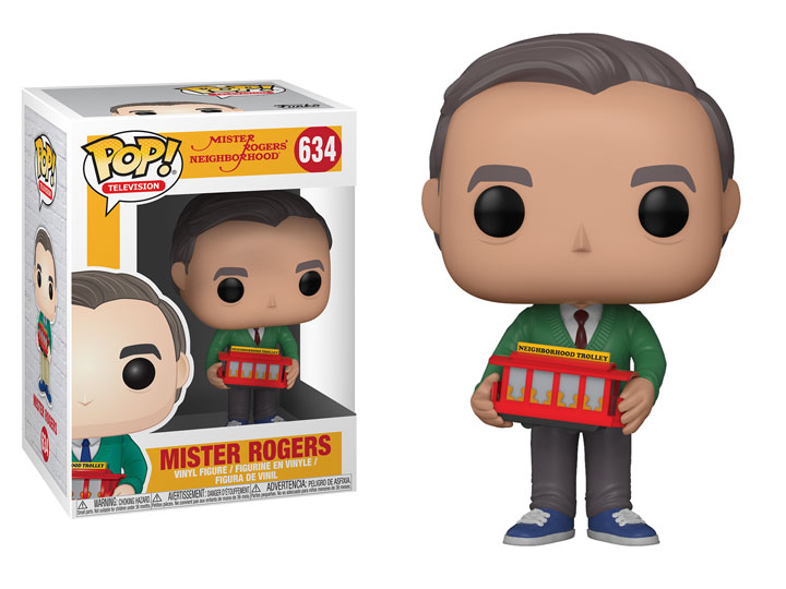 Funko POP TV Mister Rogers Figure -#634