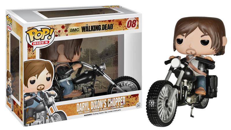 Funko POP Walking Dead Daryl Dixon Chopper Vinyl Figure