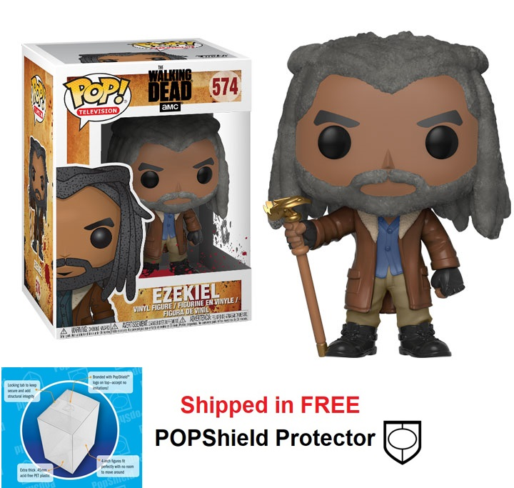 Funko POP Walking Dead Ezekiel Figure - #574