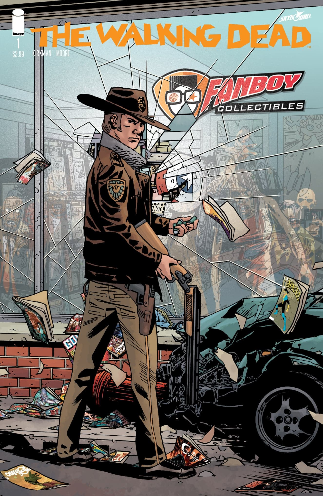 Walking Dead #1 15th Anniversary Retailer Variant Cover