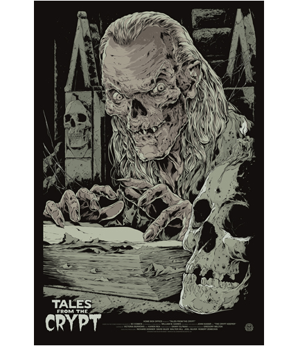 Mondo Tales From The Crypt Ken Taylor Poster