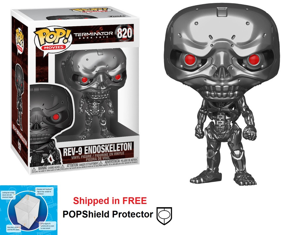 Funko POP Movies Terminator Dark Fate REV-9 Endoskeleton - #820