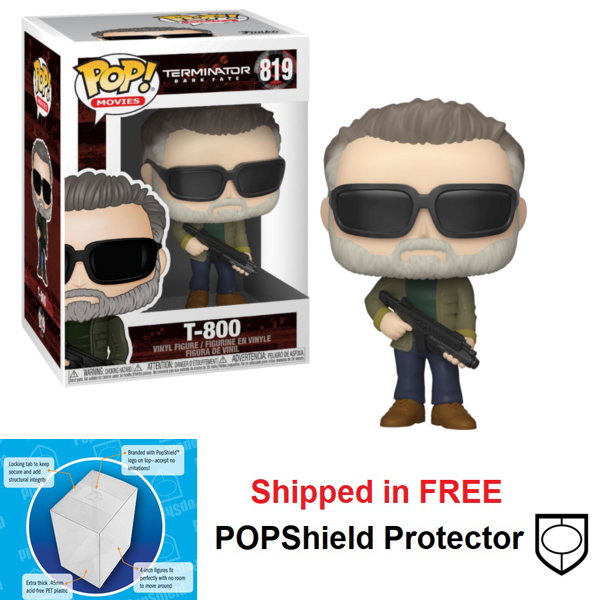 Funko POP Movies Terminator Dark Fate T-800 - #819