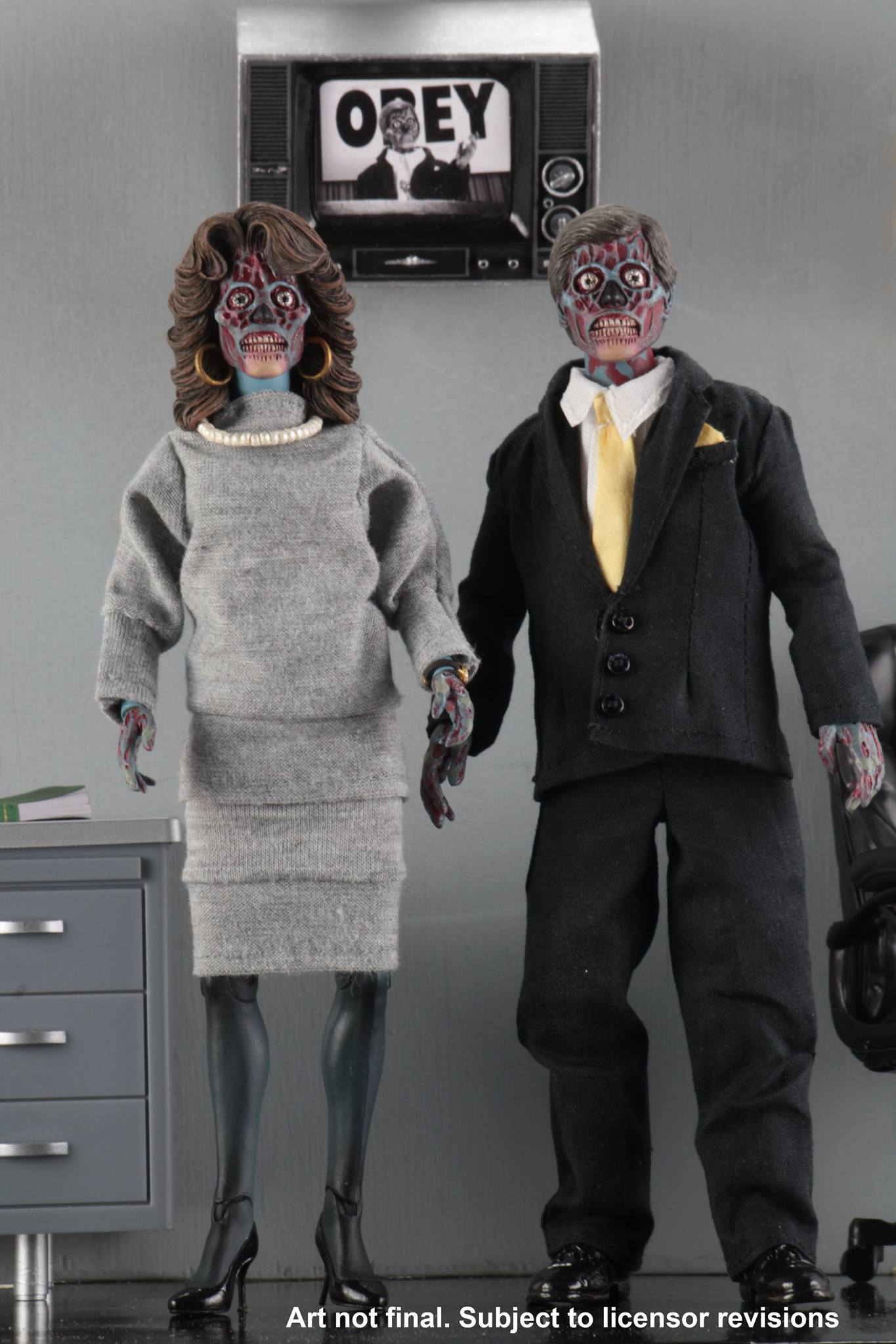 Pre-Order NECA They Live Clothed Figure 2 Pack