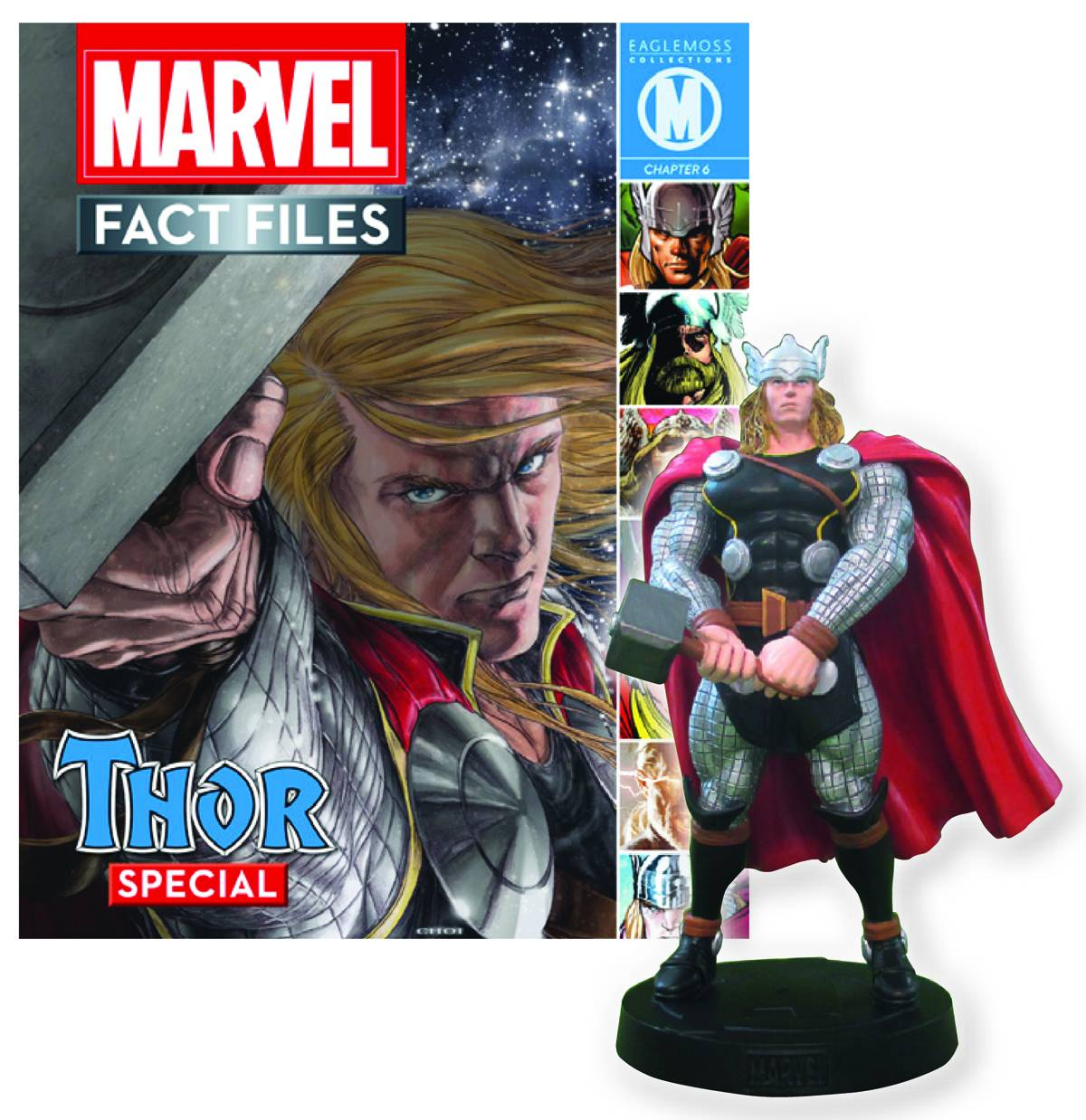 Eaglemoss Marvel Comics Fact File Thor Figurine