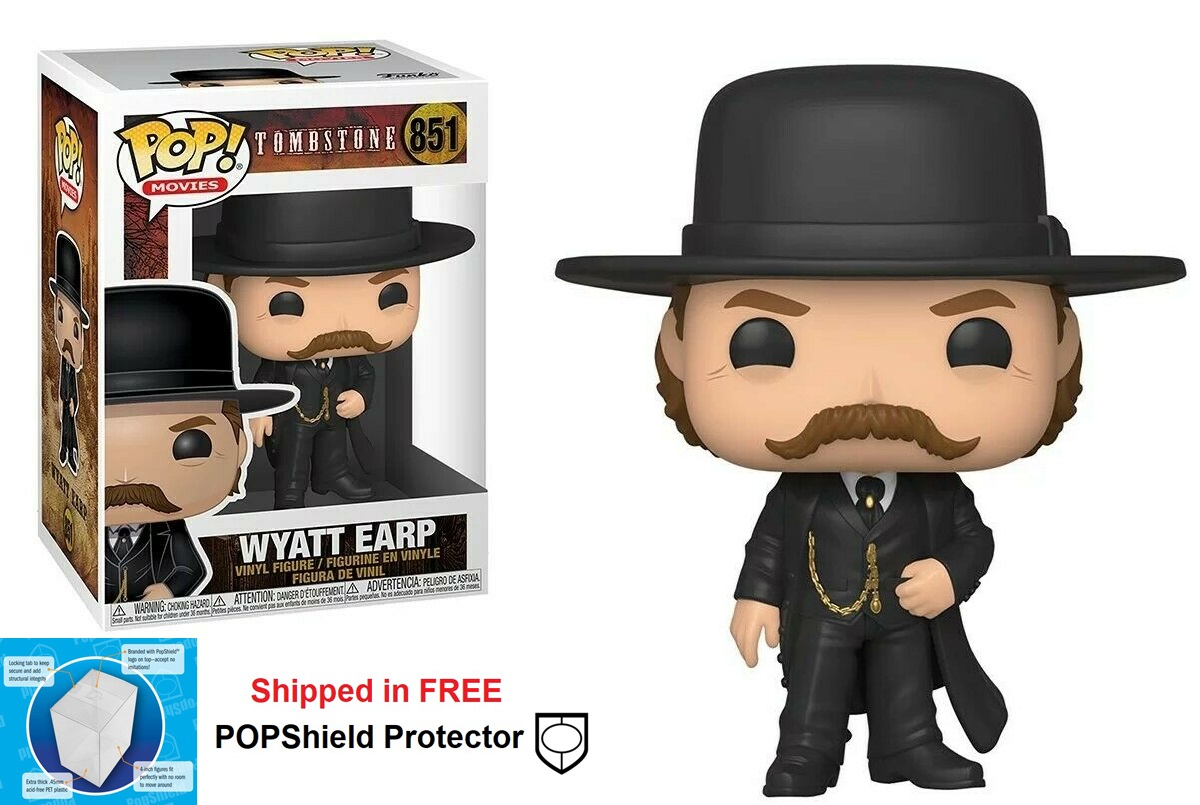 Funko POP Movies Tombstone Wyatt Earp Figure - #851