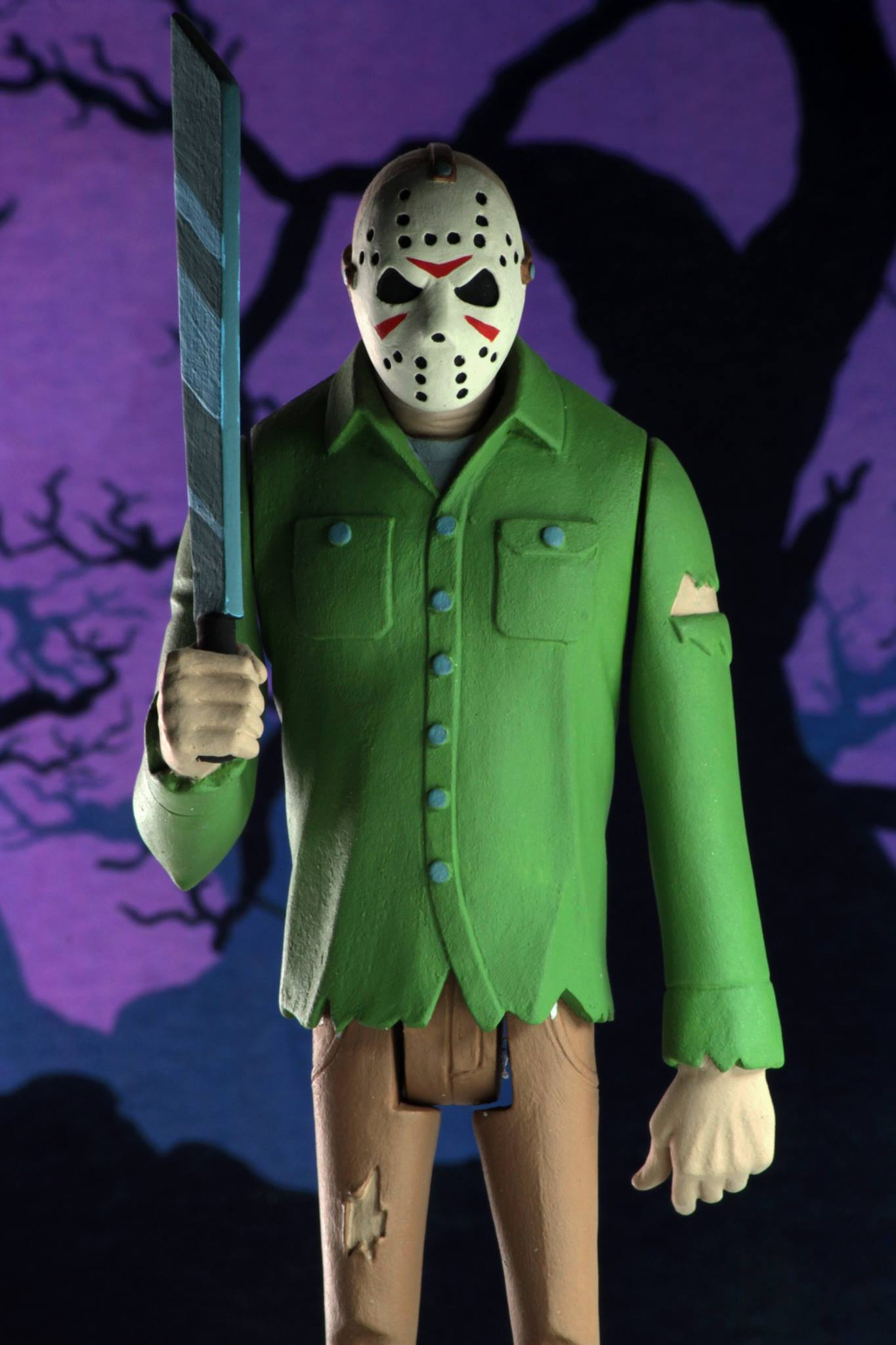 NECA Toony Terrors Jason Voorhees Friday the 13th Figure