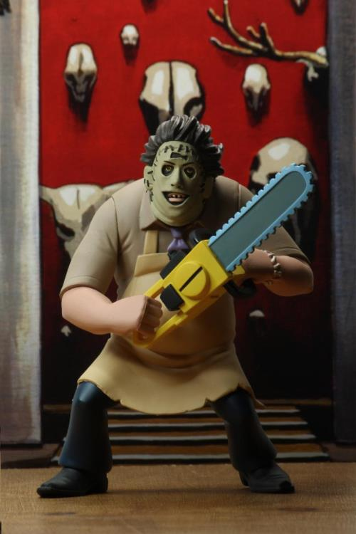 NECA Toony Terrors Leatherface Texas Chainsaw Massacre Figure