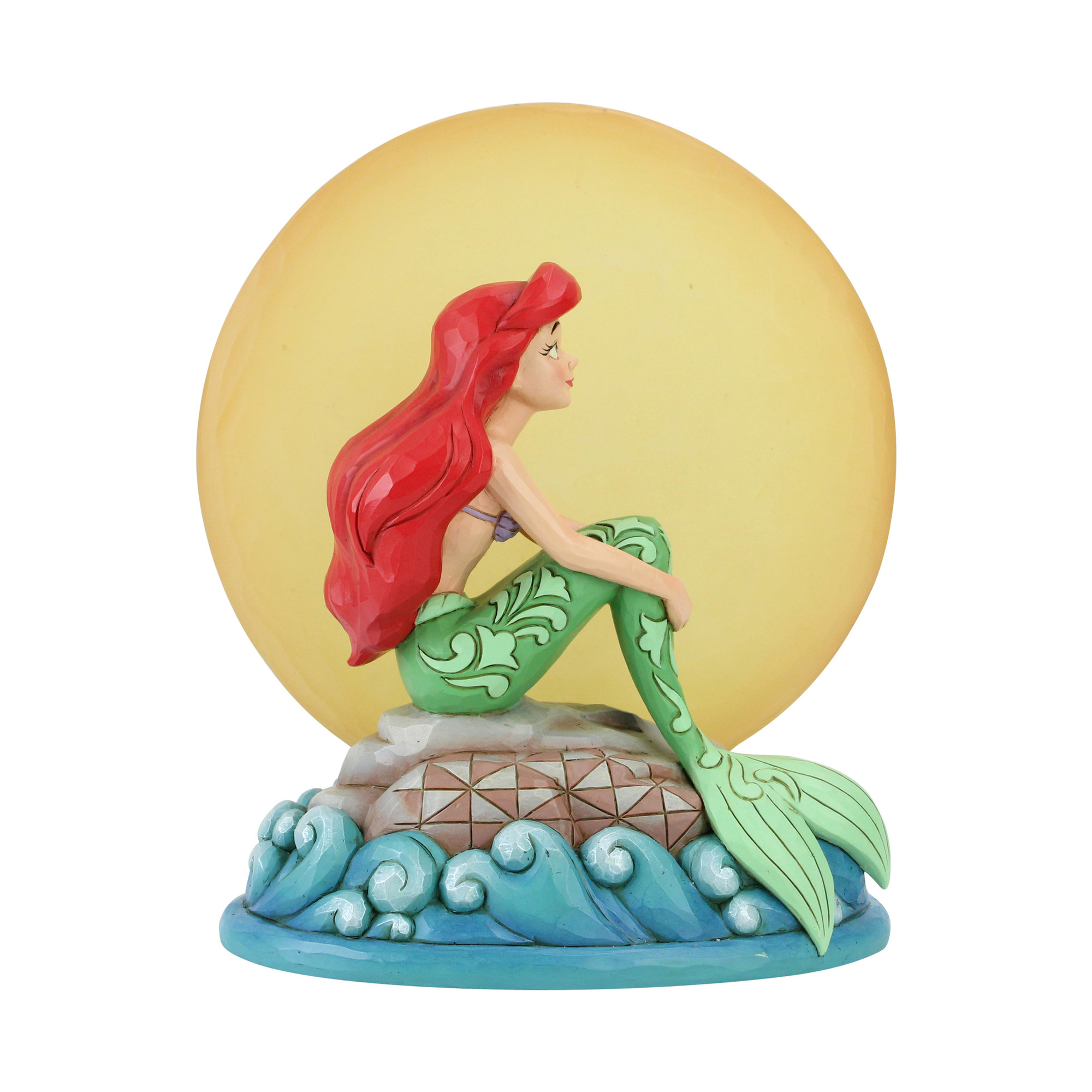 Disney Tradition Ariel Mermaid by Moonlight Statue