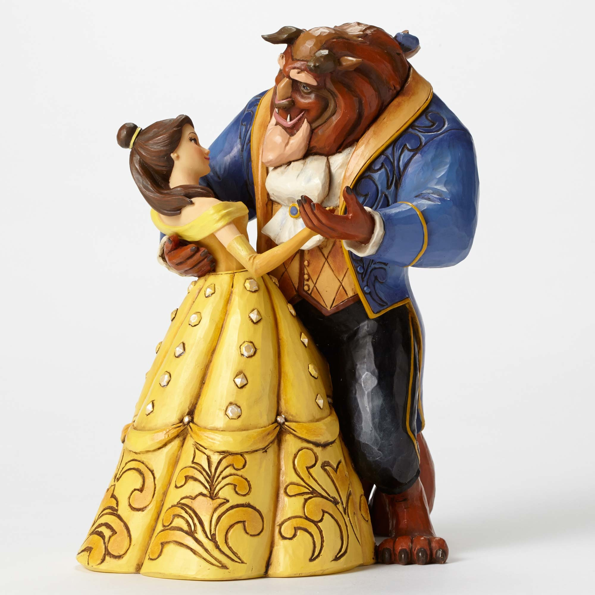 Enesco Disney Traditions Beauty & The Beast  Jim Shore Statue