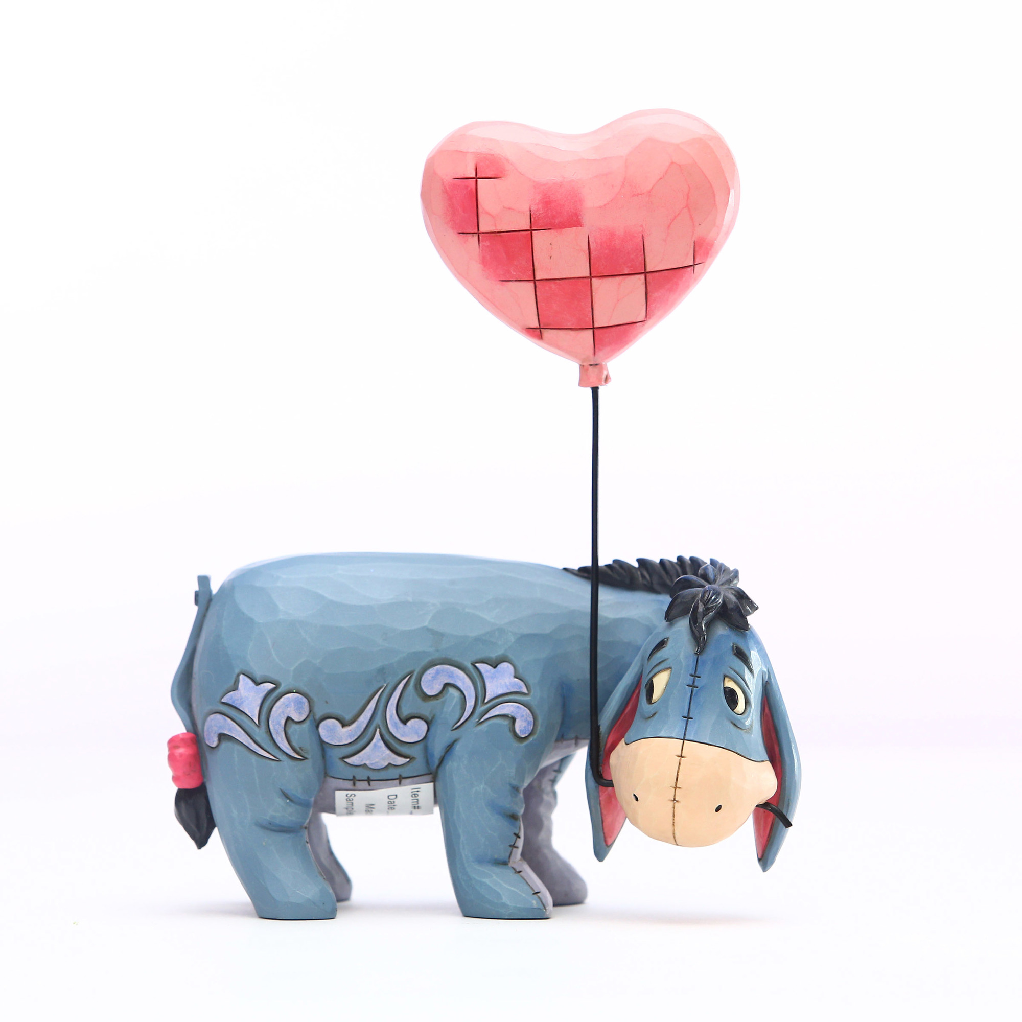 Disney Traditions Eeyore with Heart Balloon Statue