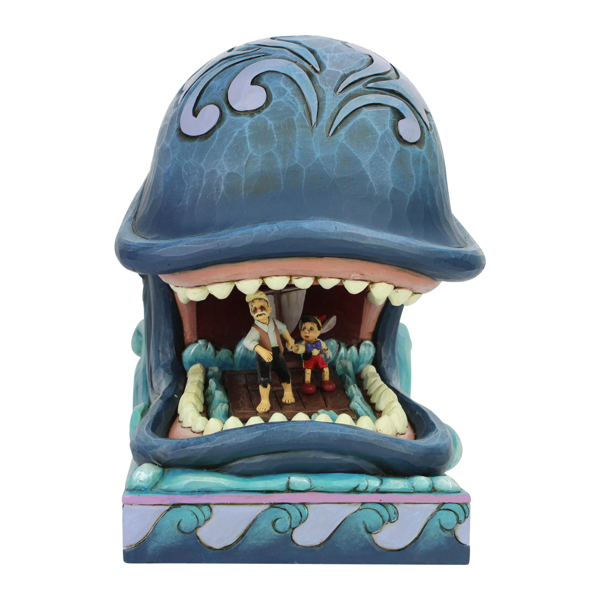 Disney Traditions Monstro, Pinocchio and Gepetto Statue
