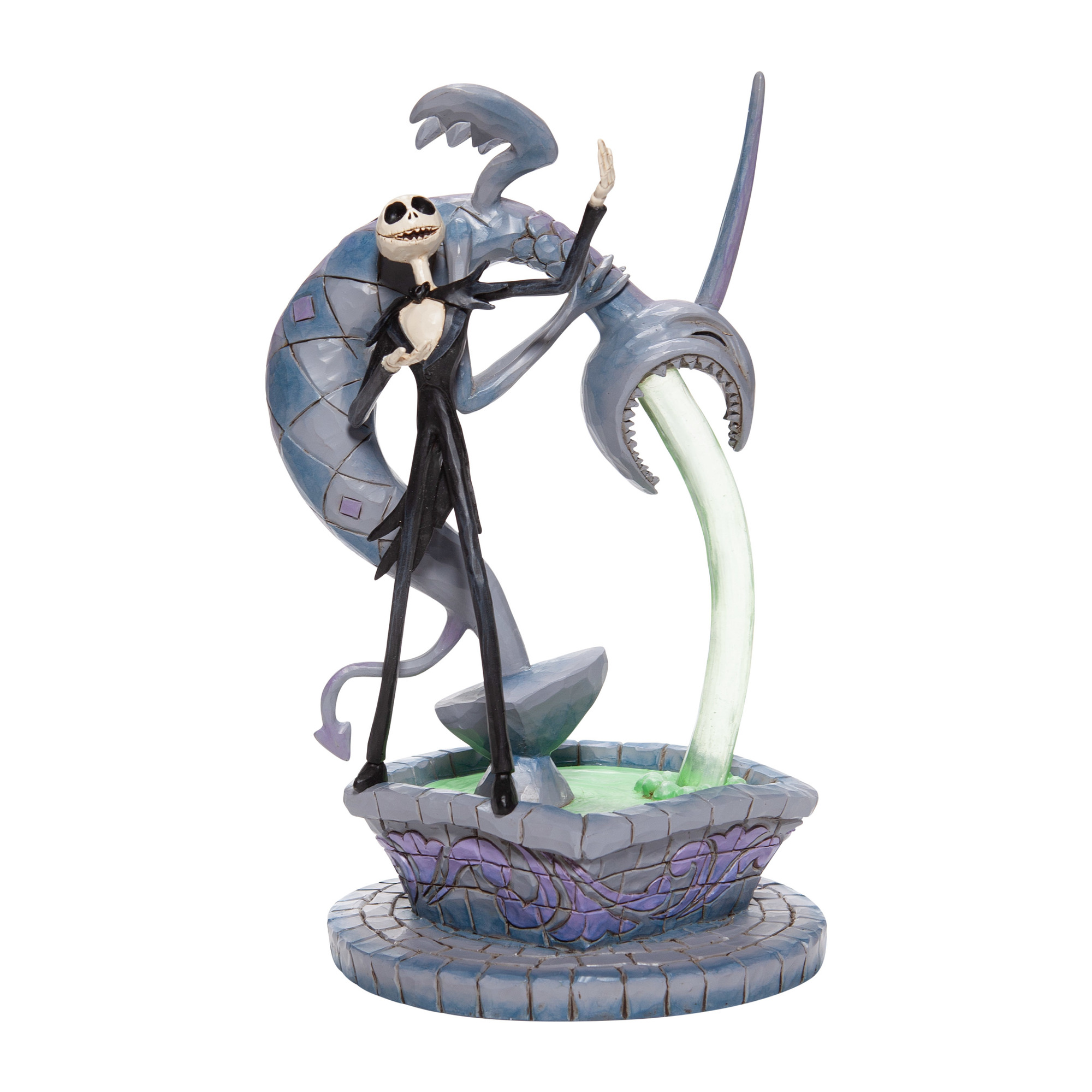 Disney Traditions Nightmare Before Christmas Jack Fountain