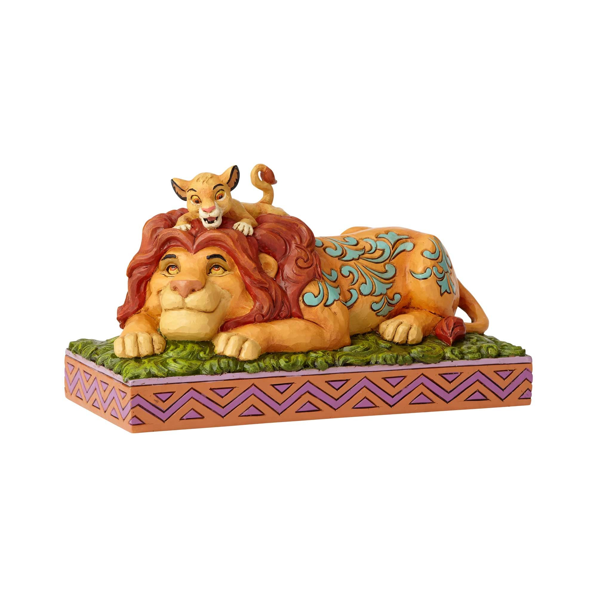 Disney Traditions Lion King Simba & Mufasa Father's Pride Statue