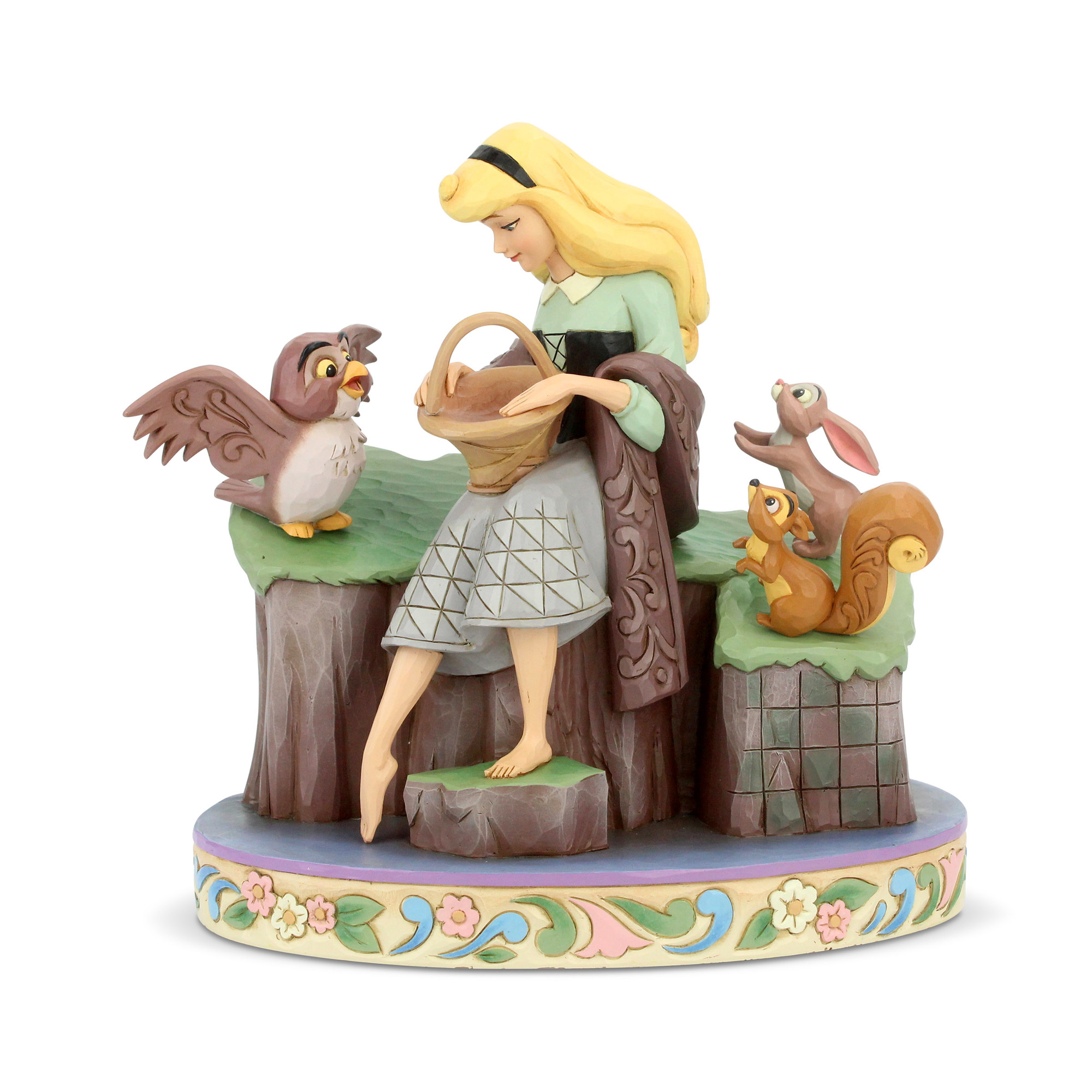 Disney Traditions Sleeping Beauty w/Animals Beauty Rare Statue