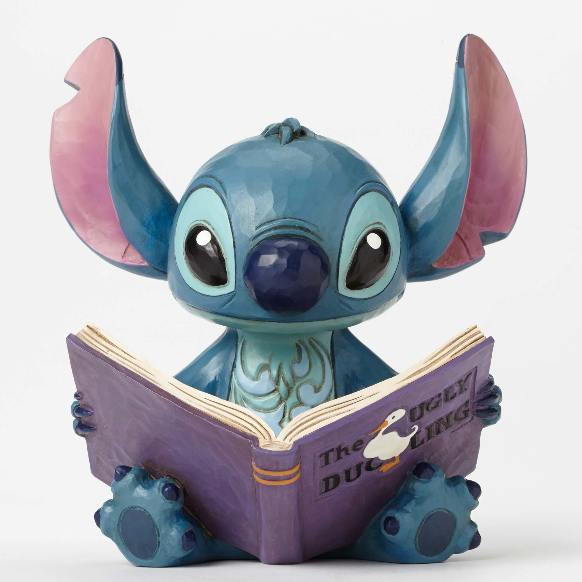 Disney Traditions Stitch with Story Book Statue