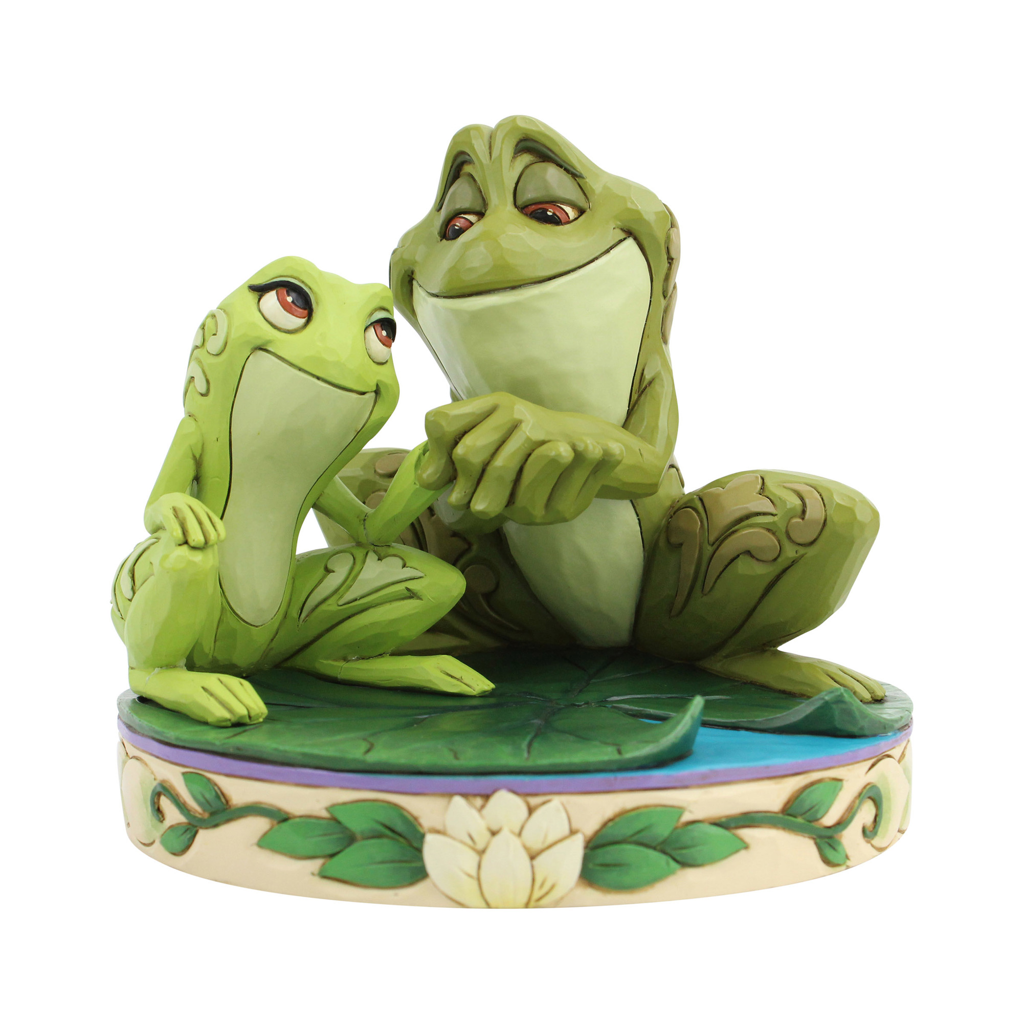 Disney Traditions Tiana and Naveen as Frogs Statue