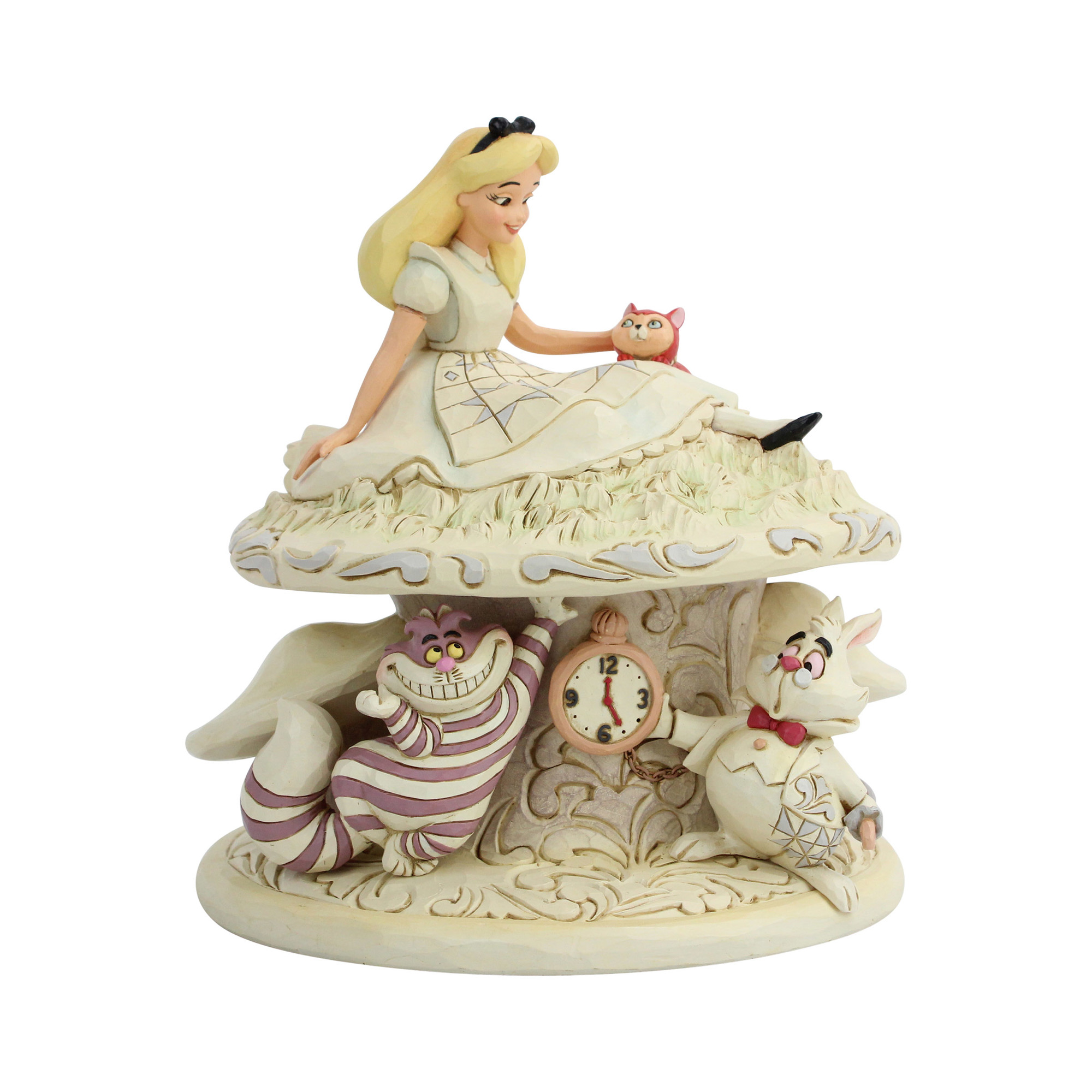 Disney Traditions White Woodland Alice Whimsy and Wonder