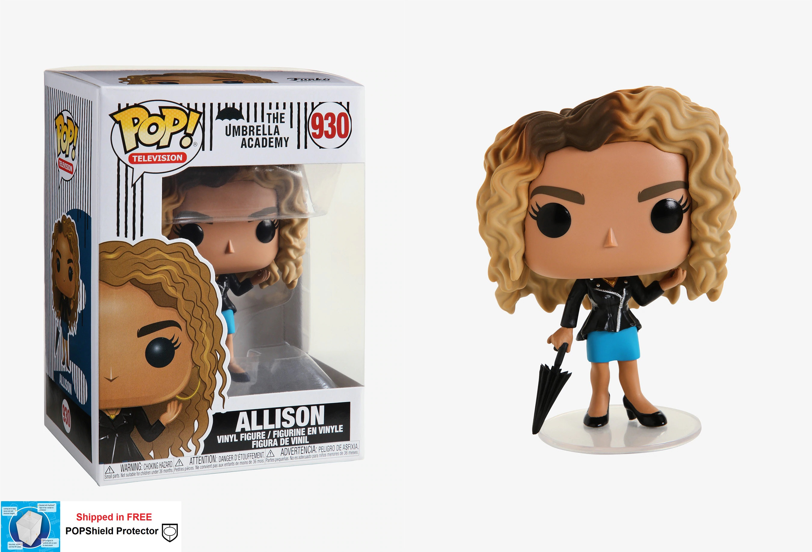 Funko POP TV Umbrella Academy Allison - #930