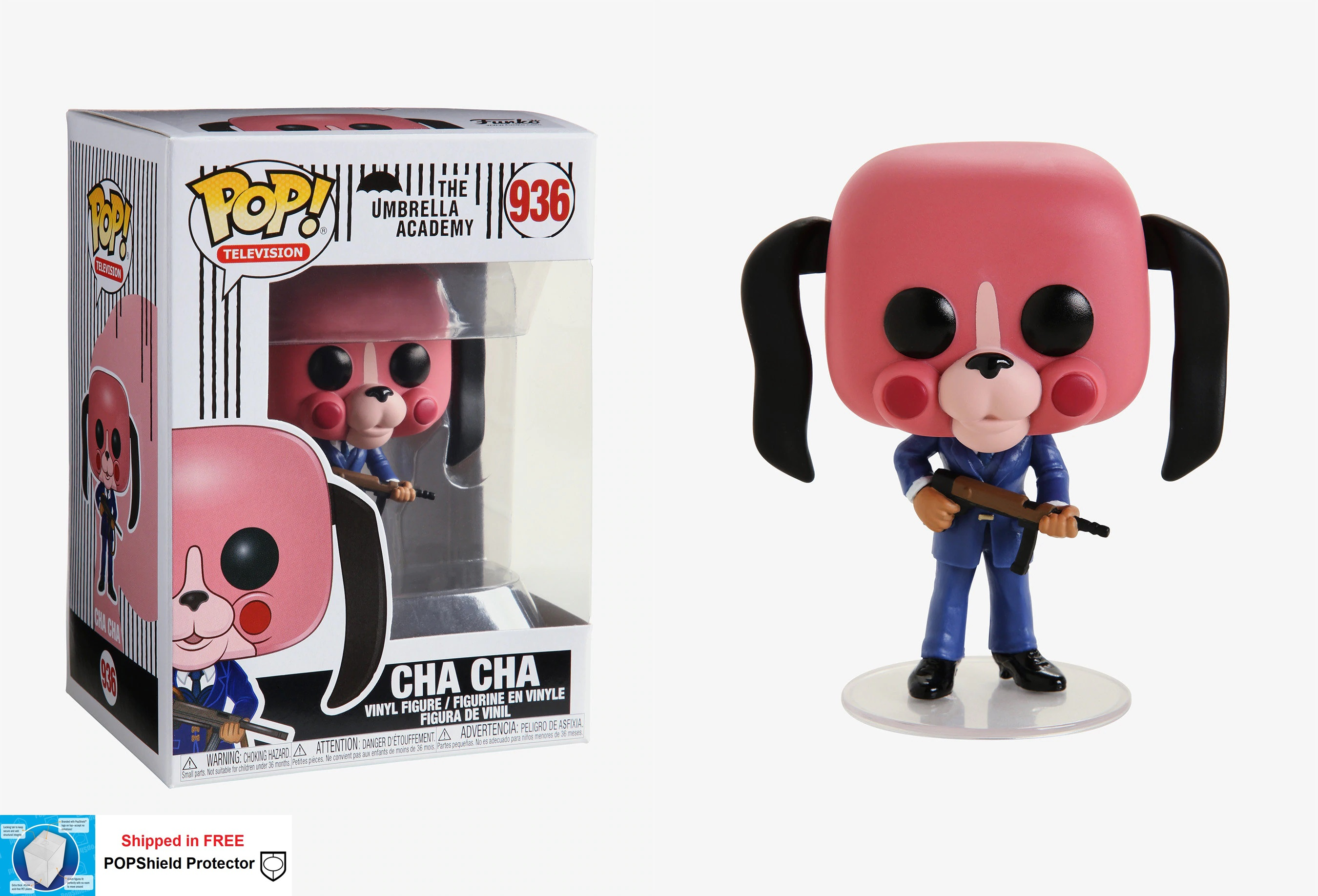 Funko POP TV Umbrella Academy Cha Cha - #936
