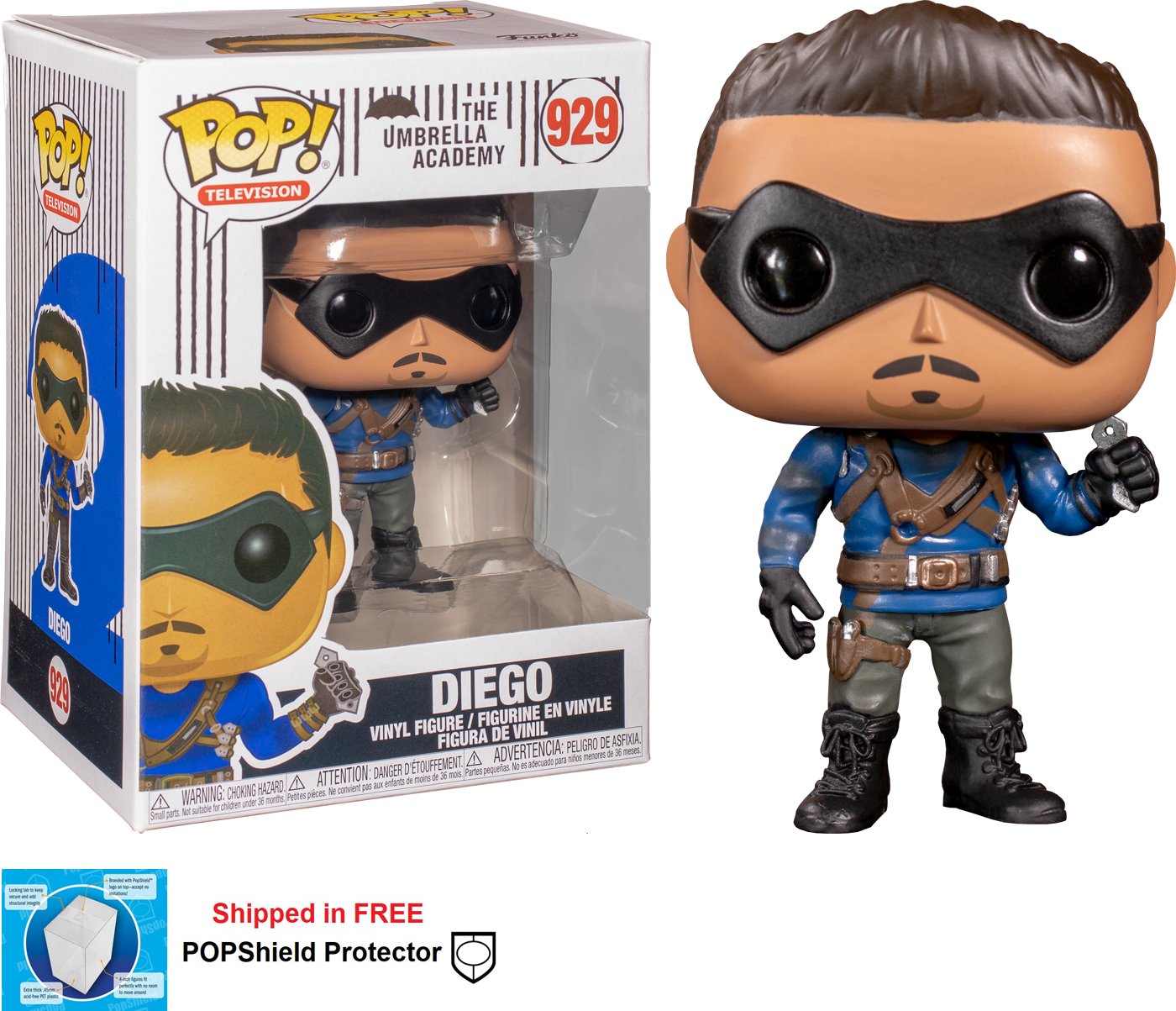 Funko POP TV Umbrella Academy Diego - #929
