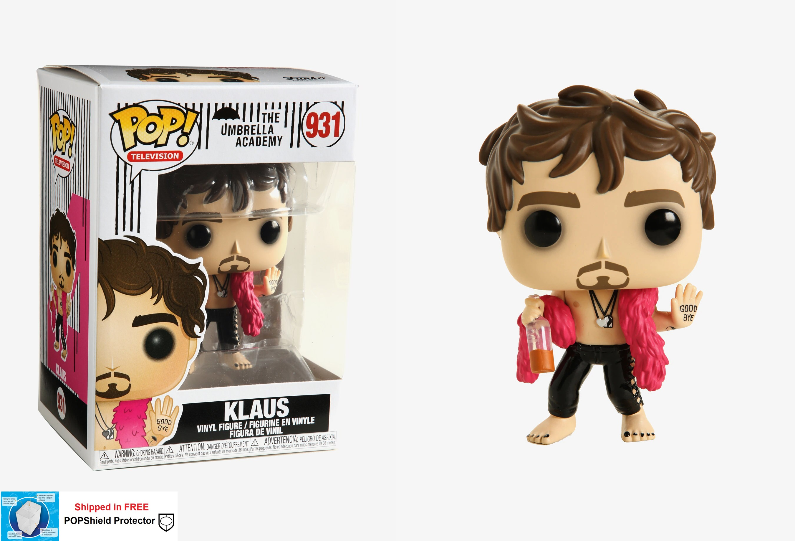 Funko POP TV Umbrella Academy Klaus - #931