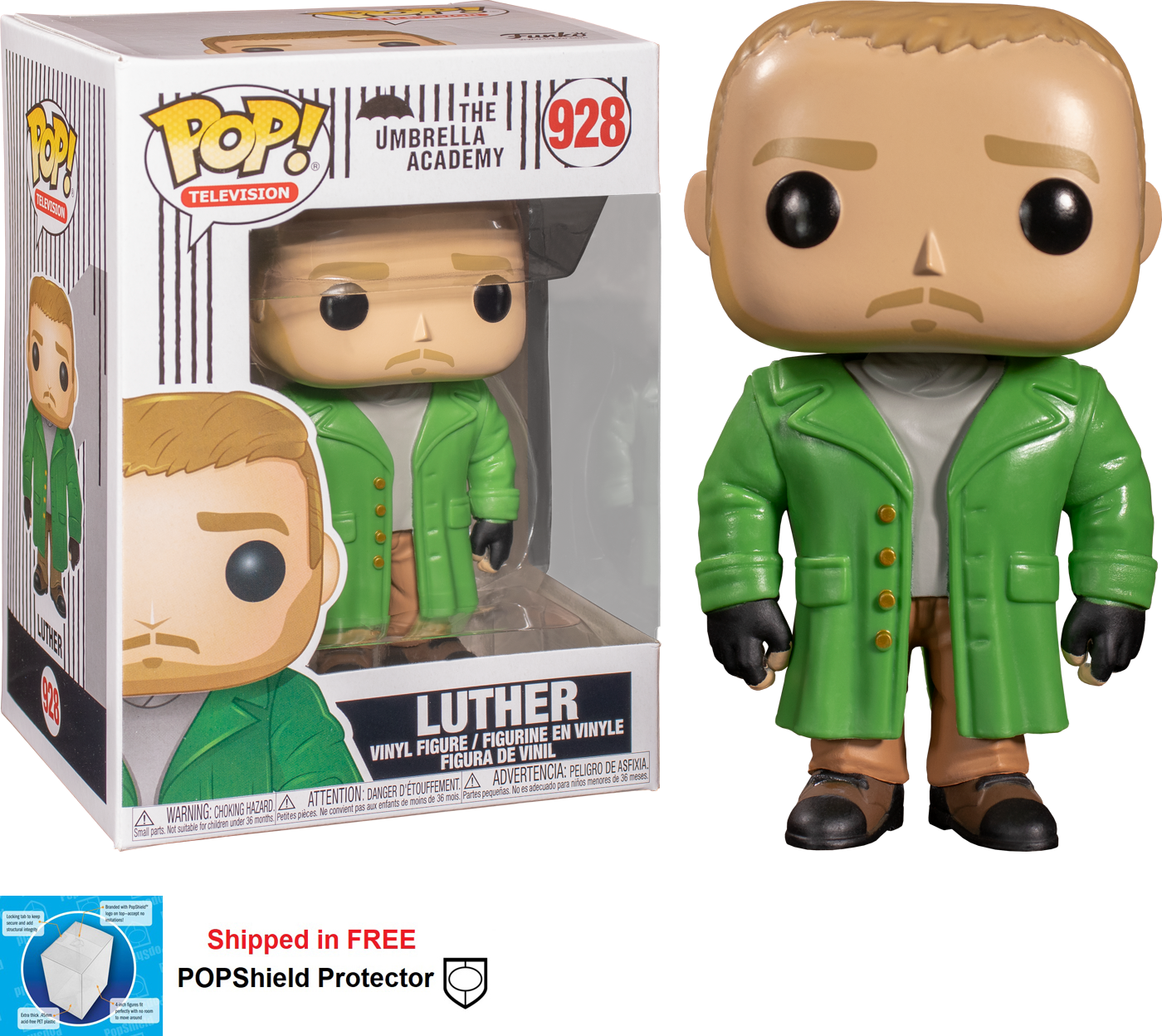Funko POP TV Umbrella Academy Luther - #928