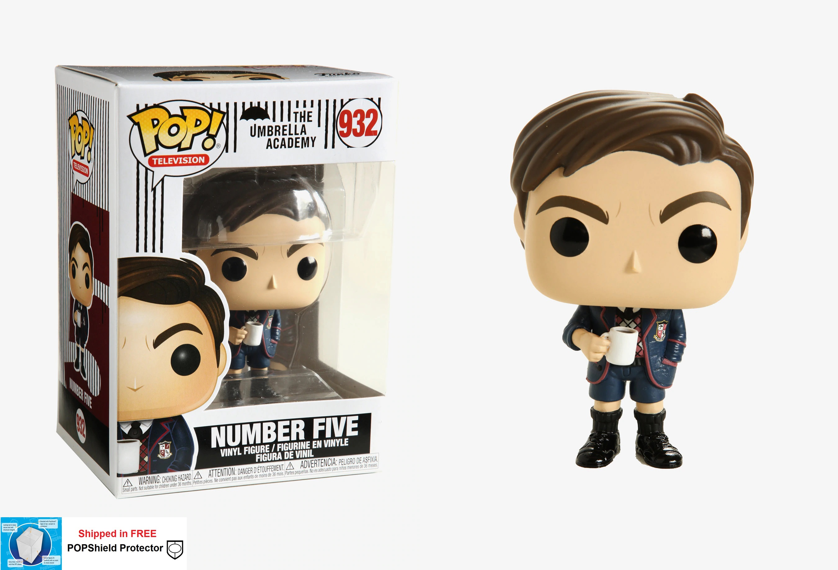 Funko POP TV Umbrella Academy Number Five - #932