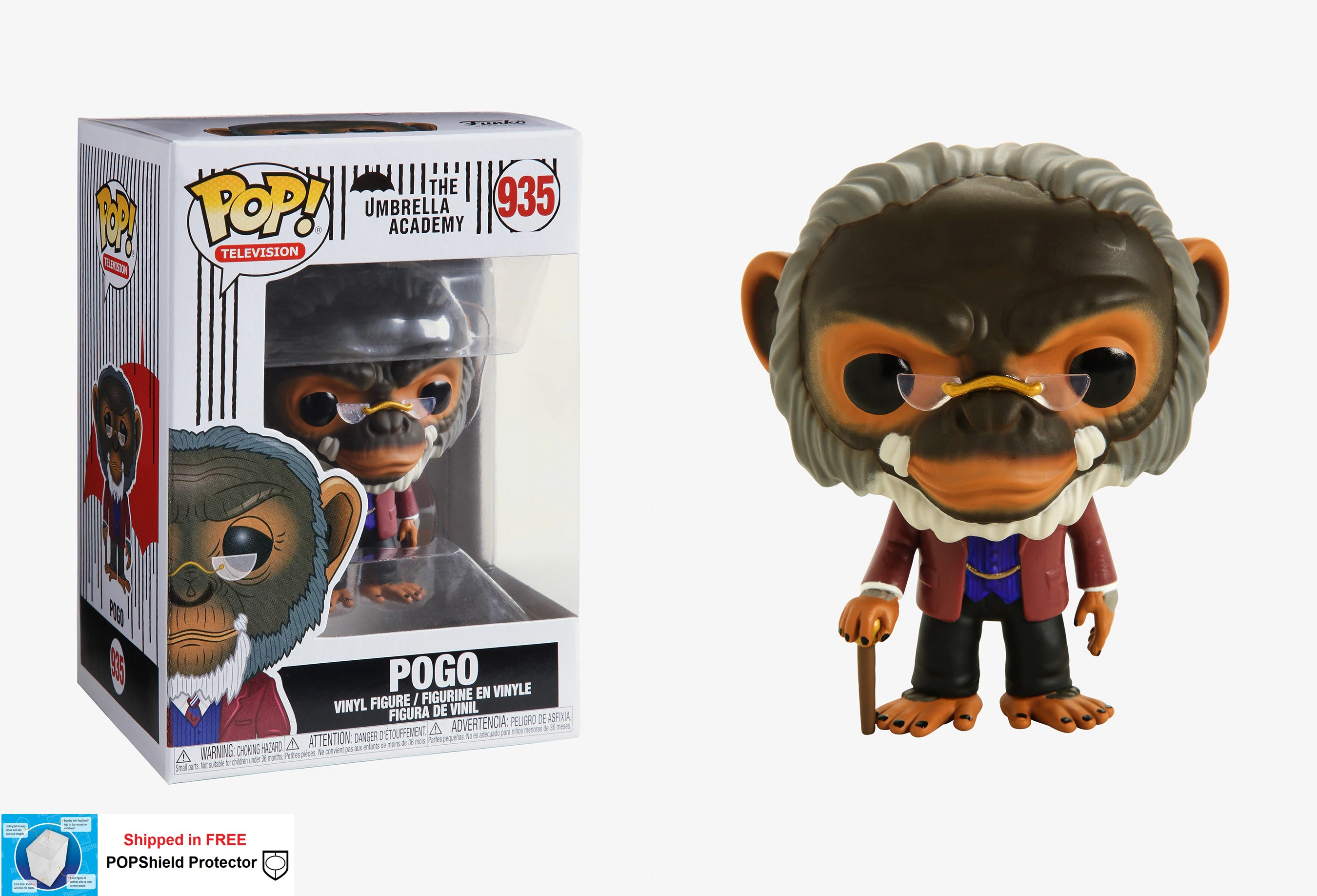 Funko POP TV Umbrella Academy Pogo - #935