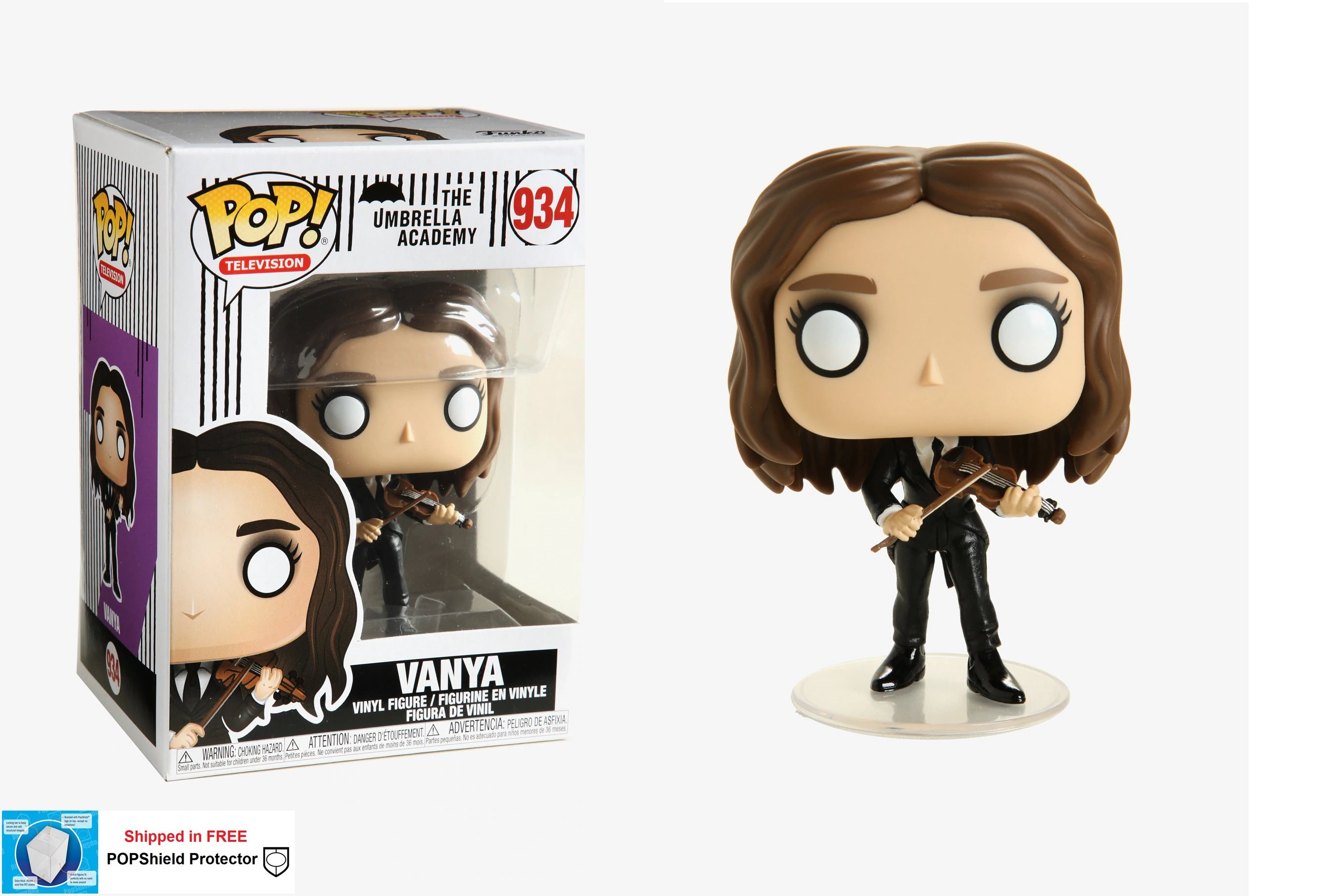Funko POP TV Umbrella Academy Vanya - #934