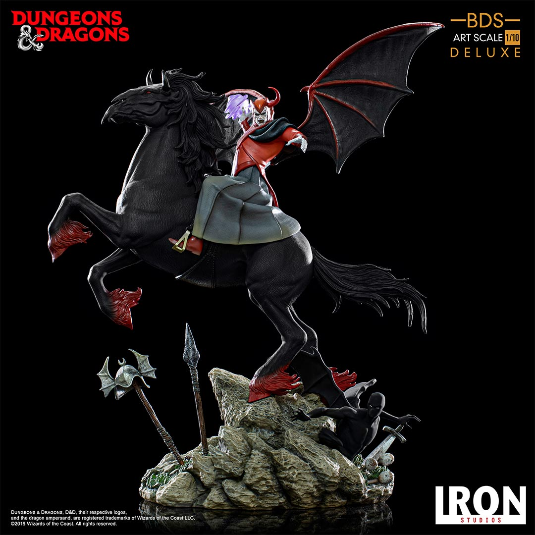 Pre-Order Iron Studios Dungeons & Dragons Venger w/Nightmare DLX