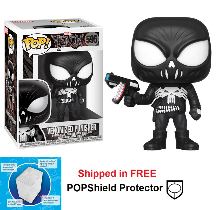 Funko POP Marvel Venom Series Venomized Punisher - #595