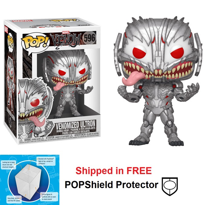 Funko POP Marvel Venom Series Venomized Ultron - #596