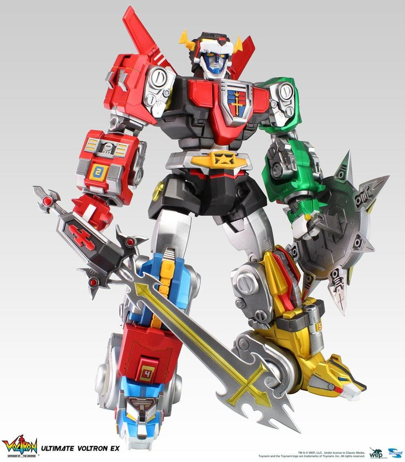 Toynami Ultimate Voltron EX Figure