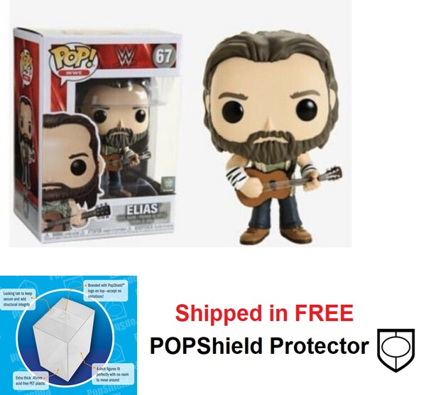 Funko POP WWE Elias Figure -#67