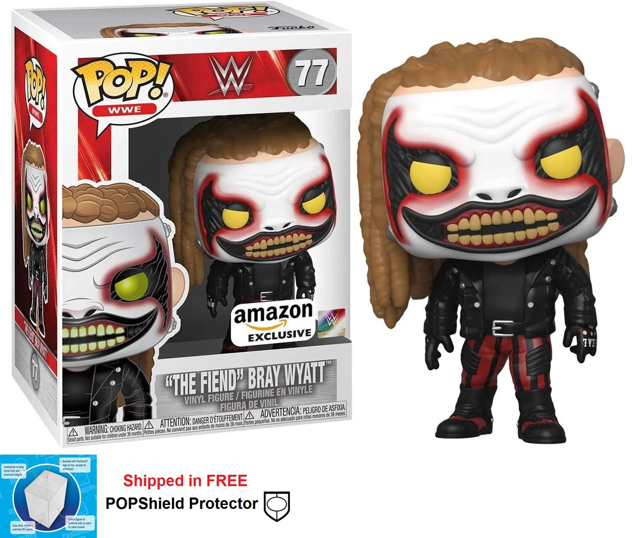 Funko POP WWE The Fiend Bray Wyatt Figure -#77