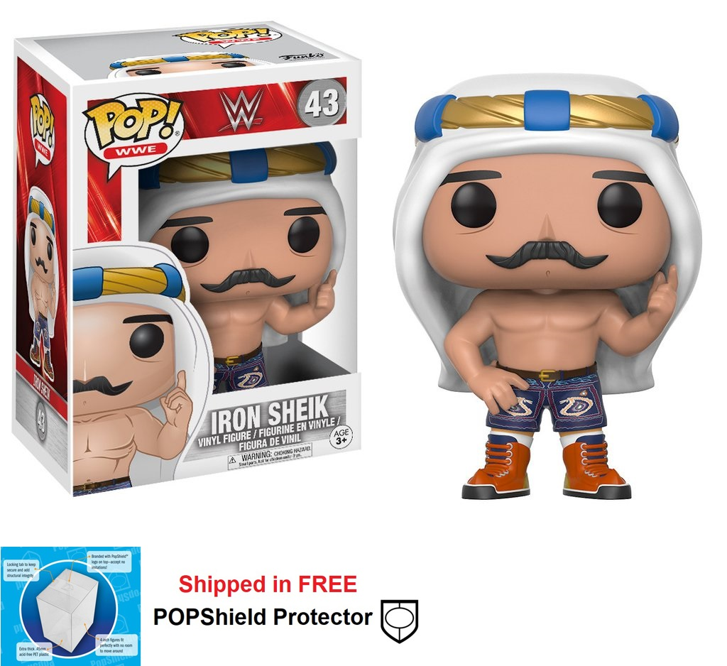 Funko POP WWE Iron Sheik Figure - #43