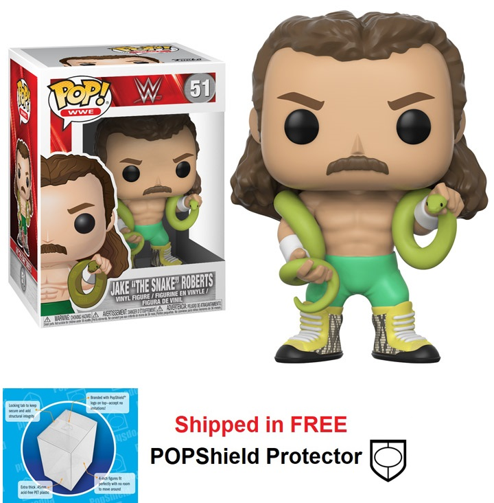 Funko POP WWE Jake The Snake Roberts Figure -#51