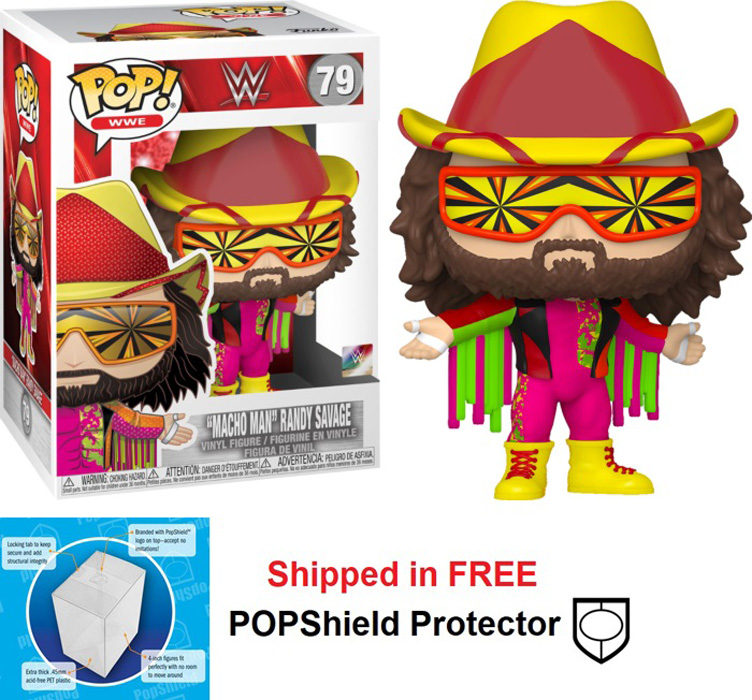 Funko POP WWE Randy Macho Man Savage Figure - #79