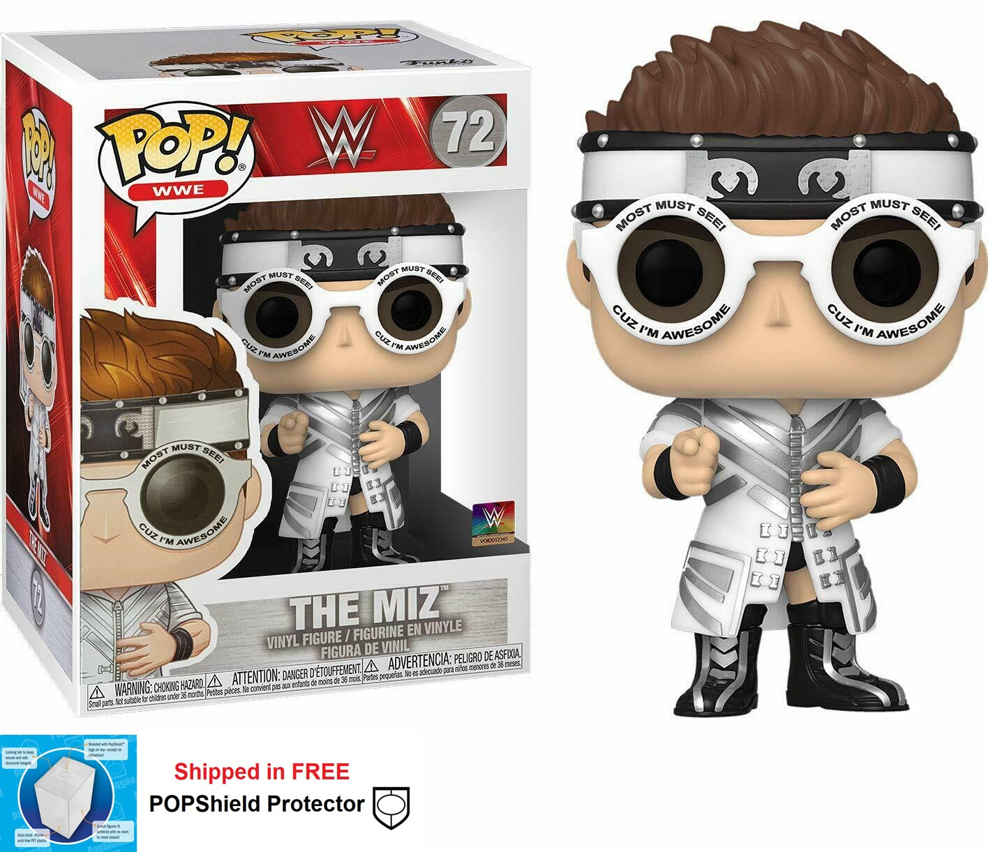 Funko POP WWE The Miz - #72