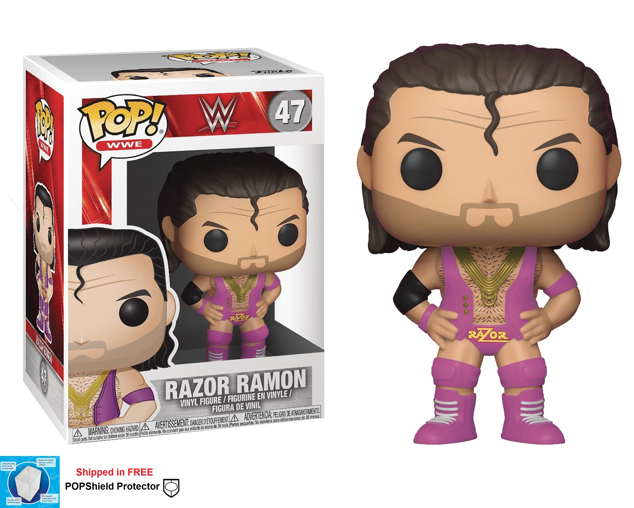 Funko POP WWE Razor Ramon Figure -#47