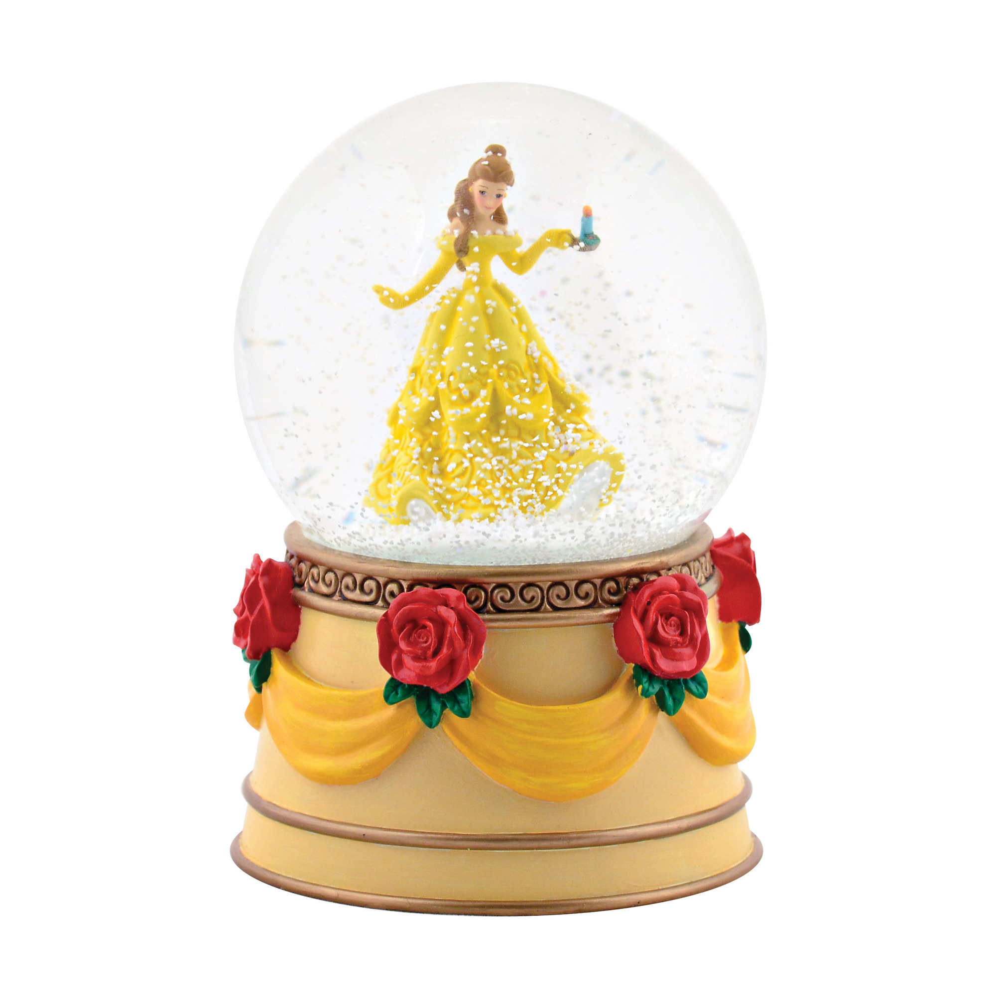 Department 56 Disney Belle Snow Globe