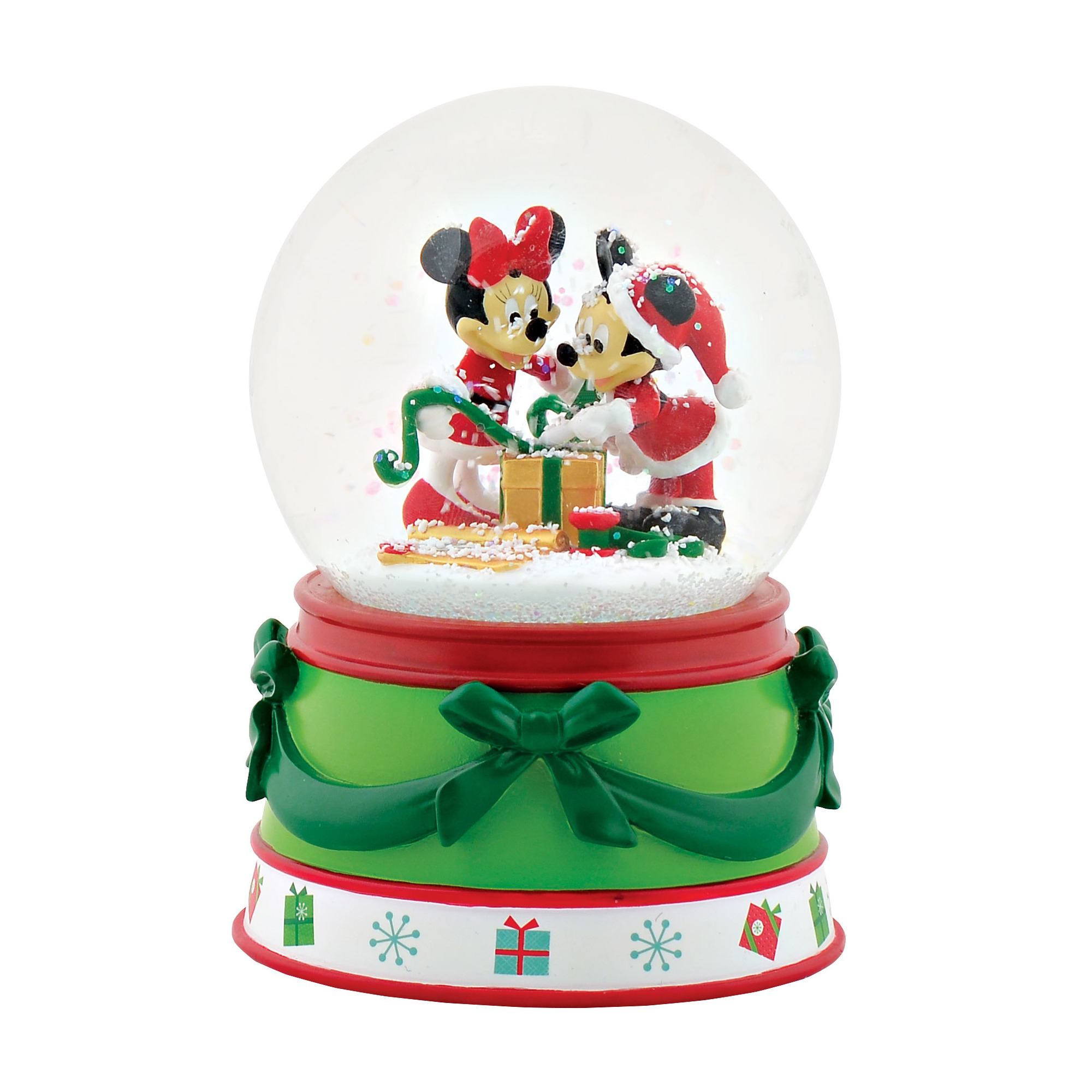 Department 56 Disney Mickey & Minnie Mouse Snow Globe