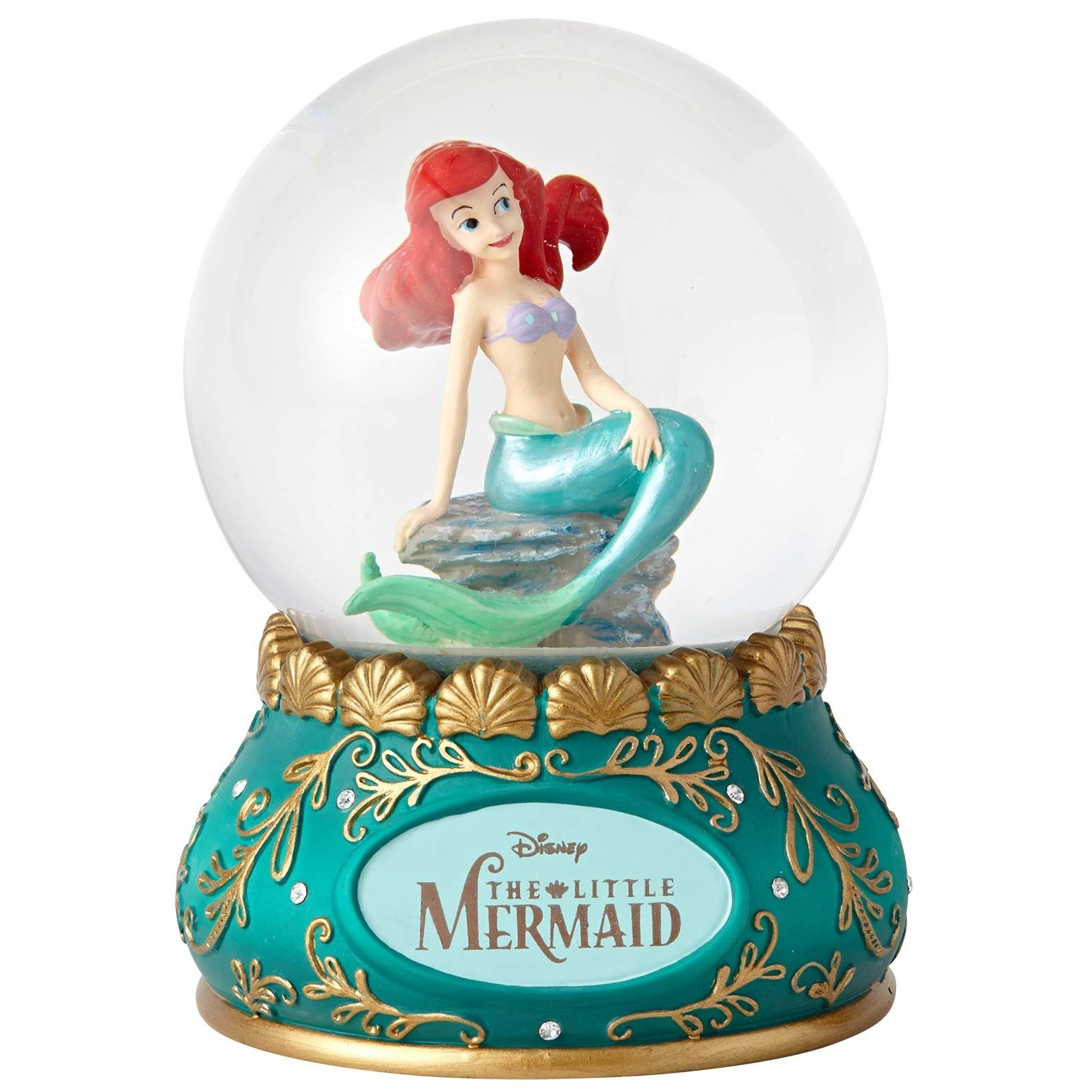 Disney Showcase Ariel Little Mermaid Water Globe