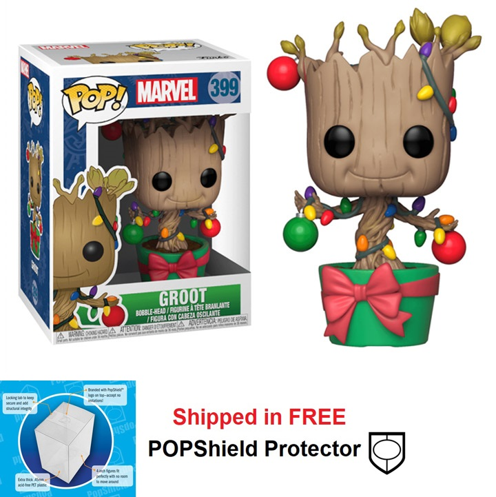 Funko POP Marvel Holiday Groot - #399