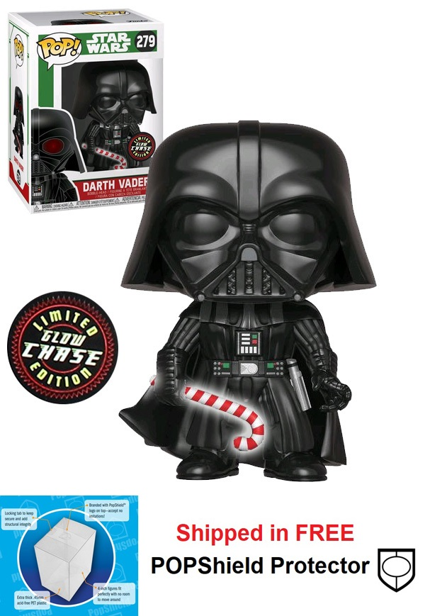 Funko POP Star Wars Holiday Darth Vader Figure - #279: Chase