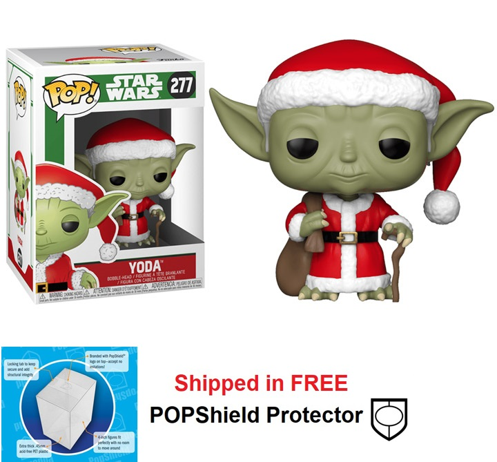 Funko POP Star Wars Holiday Yoda Figure - #277